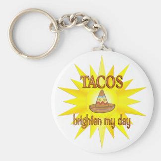 Tacos Brighten Key Chains