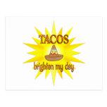 Tacos Brighten Postcard