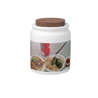TACOS CANDY JAR