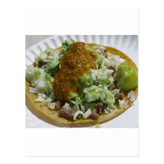 Tacos Carne Asada Postcard