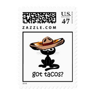 Tacos conseguido divertido sellos