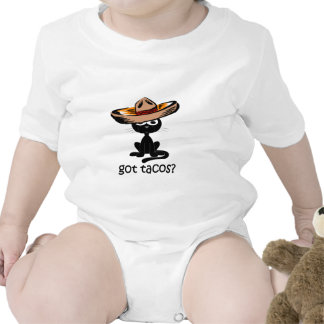 Tacos conseguido divertido traje de bebé