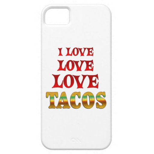 Tacos del amor del amor iPhone 5 Case-Mate protector