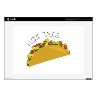 Tacos del amor skins para 38,1cm portátiles