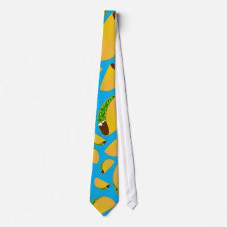Tacos del azul de cielo corbatas personalizadas