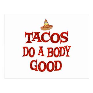 Tacos Do Good Postcard
