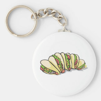 tacos keychain