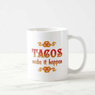 Tacos Classic White Coffee Mug