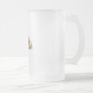 tacos 16 oz frosted glass beer mug
