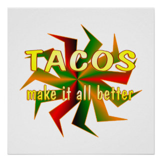 Tacos Posters