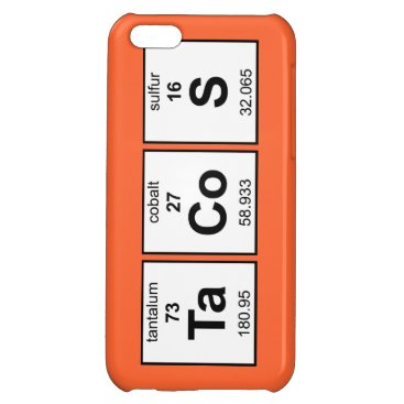 TaCoS Periodic Table Case For iPhone 5C