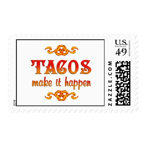 Tacos Postage Stamps