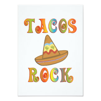Tacos Rock Card