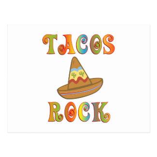 Tacos Rock Postcard