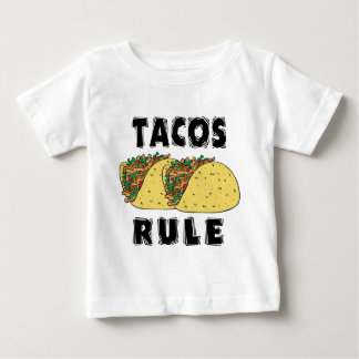 Tacos Rule Baby Shirt