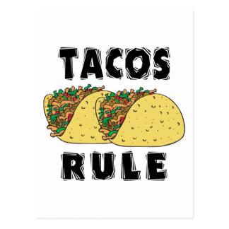Tacos Rule Postcard