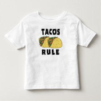 Tacos Rule Toddler Tee Shirts