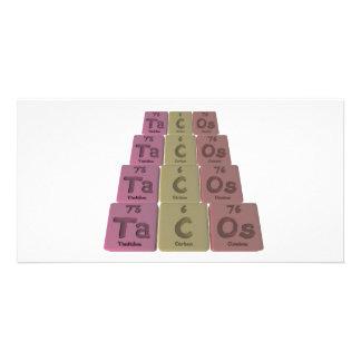 Tacos-Ta-C-Os-Tantalum-Carbon-Osmium.png Custom Photo Card