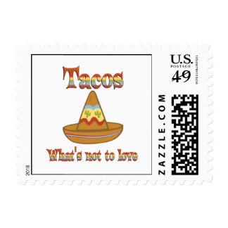 Tacos to Love Postage Stamps