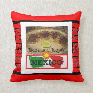 Tacos y Tequila Cojines