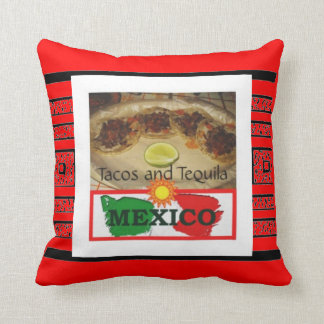 Tacos y Tequila Cojin