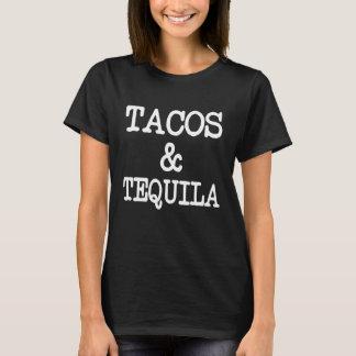 Tacos y Tequila divertidos Playera