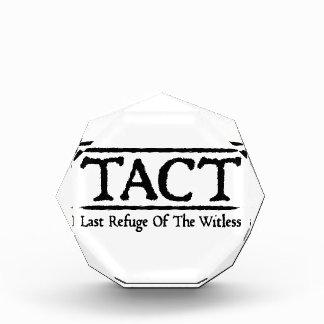 TACT - Last Refuge Of The Witless Acrylic Award