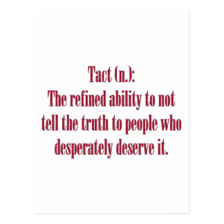 Tact: The Refined Ability Postcard