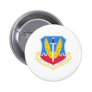TACTICAL AIR COMMAND PINBACK BUTTONS