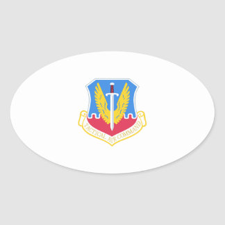 TACTICAL AIR COMMAND OVAL STICKER