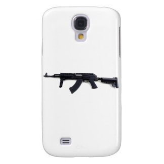 Tactical AK47 Assault Rifle Left Profile Galaxy S4 Cover