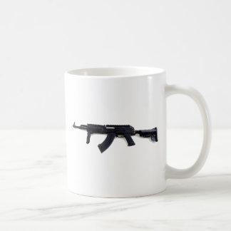 Tactical AK47 Assault Rifle Left Profile Mug