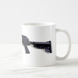 Tactical AK47 Assault Rifle Left Profile Mugs