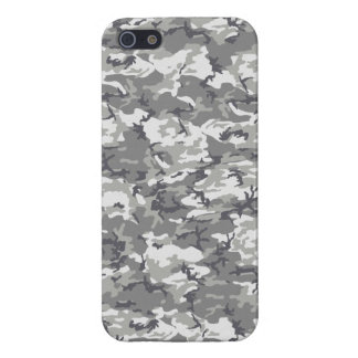 TACTICAL GREY CAMO iPhone 5/5S COVER