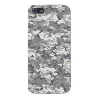 TACTICAL GREY CAMO iPhone SE/5/5s CASE