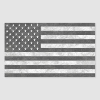 Tactical Subdued Grey US Flag Sticker