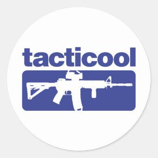 Tacticool - Blue Classic Round Sticker
