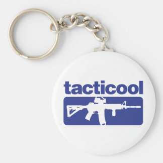 Tacticool - Blue Keychain