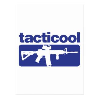 Tacticool - Blue Postcard