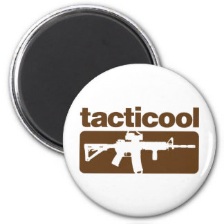 Tacticool - Brown Imán Redondo 5 Cm