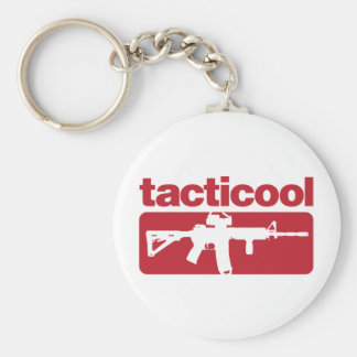 Tacticool - Red Keychain