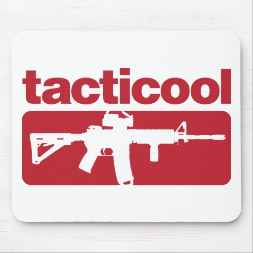 Tacticool - Red Mouse Pads