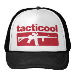 Tacticool - Red Trucker Hat