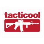 Tacticool - rojo tarjetas postales