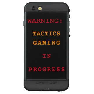 Tactics Gaming In Progress LifeProof NÜÜD iPhone 6s Plus Case