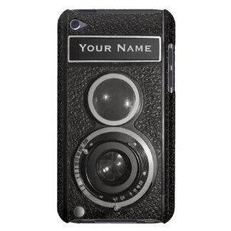 Tacto 4G N de iPod del vintage del cromo del negro Case-Mate iPod Touch Funda