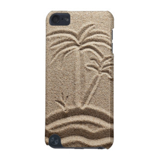 Tacto 5g de iPod de la arena de la playa de la isl Funda Para iPod Touch 5G