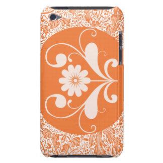 Tacto anaranjado iPod touch coberturas