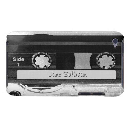 Tacto audio 4G de iPod de la cinta de casete de Case-Mate iPod Touch Fundas