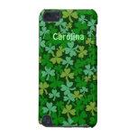 Tacto conocido irlandés de los tréboles verdes afo